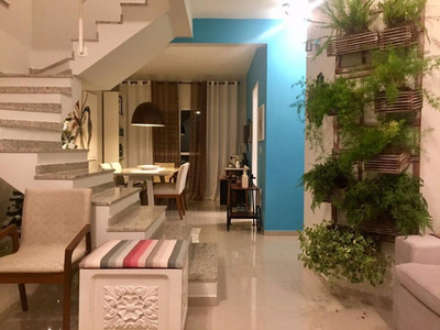 Casa Com 03 Quartos Sendo (01 Suíte) Em Condomínio Fechado, Granja Dos Cavaleiros. - Ca0096