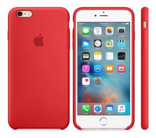Capinha Original Silicone iPhone 6 6s 7 8 Plus X