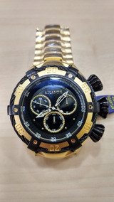 Relógio Atlantis Masc. Dourado Original Frete Gratis