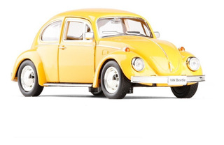 Miniatura Colecionador Fusca 1967 Amarelo 1/32 Qualidade