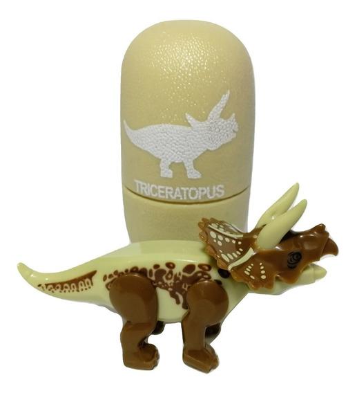 5 Huevos De Dinosaurio Con Dino Mini Armables