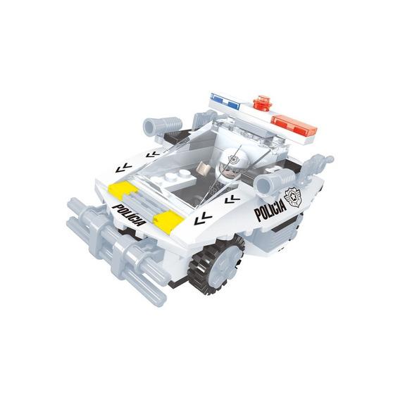 Brinquedo Para Montar - Carro Patrulha - 114 Peças
