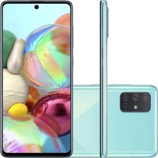 Smartphone Samsung - Azul - Galaxy A71 128gb Dual Chip Andro