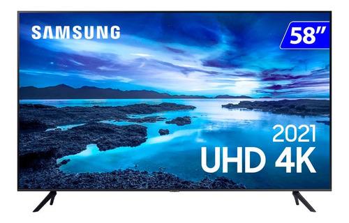 Imagem 1 de 4 de Smart Tv Samsung Led 58 4k Wi-fi Tizen Crystal