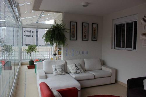 Excelente Apartamento Com 3 Dormitórios. - Ap12230