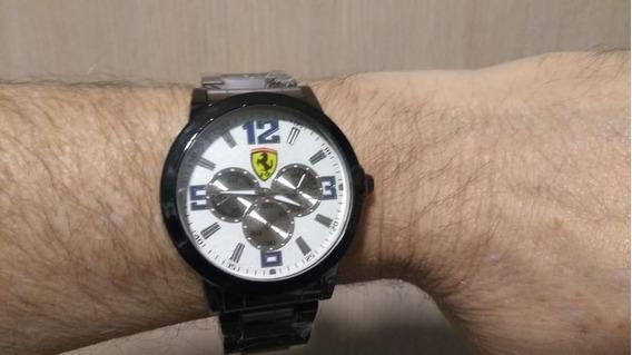 Relógio Masculino Ferrari Importado Autentico C/ Nota Fiscal