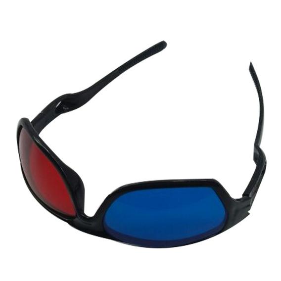 Óculos 3d Azul E Vermelho Resistente Novo Anaglífico Tv