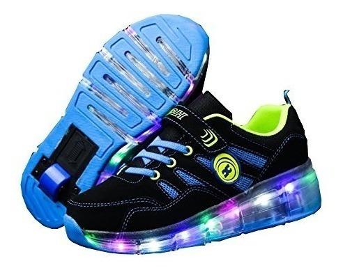 Teni Patin Con Luz Led Rollershoes