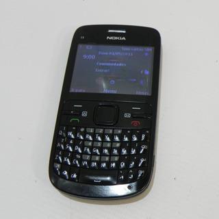 Nokia C3 00 Wifi Bluetooth 1 Chip Desbloqueado Preto- Usado
