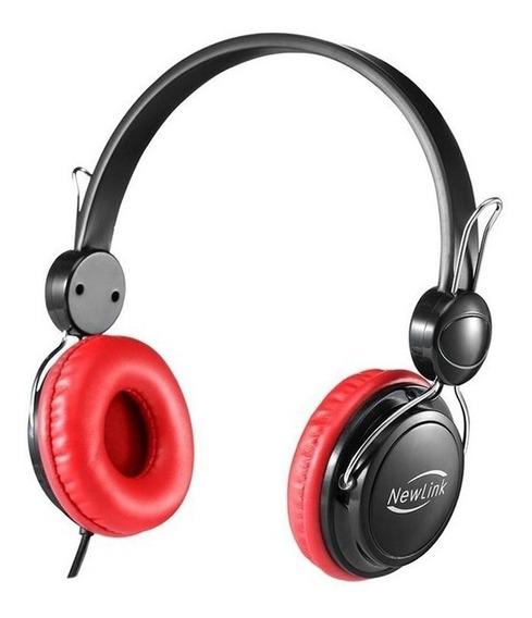 Fone Ouvido Headset Shiny Com Microfone Newlink Usado