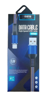 Cable Carga Usb 1 Mt Lightning iPhone Carga Rapida Cargador