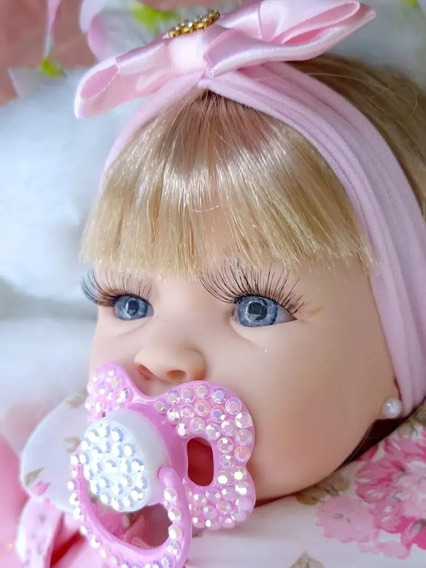 Boneca Reborne Promoção Bebê Barata Realista Enxoval Menina