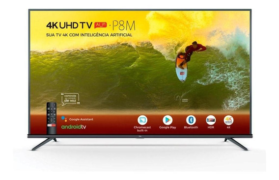 Tv Led 55 Smart 4k 55p8m Tcl - Unica