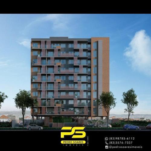 Apartamento Com 2 Dormitórios À Venda, 61 M² Por R$ 289.000 - Intermarés - Cabedelo/pb - Ap4126