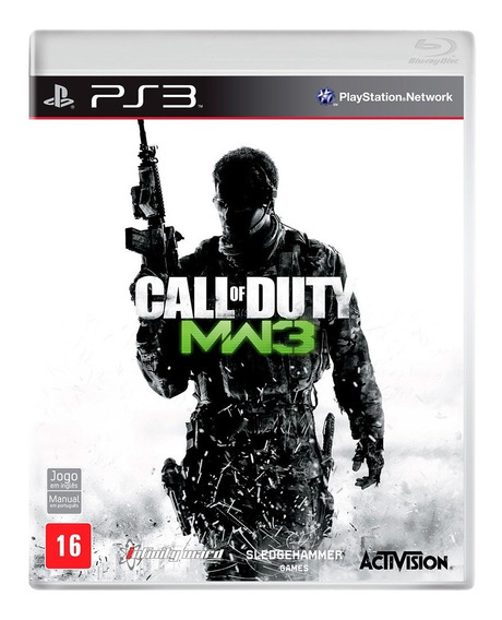 Jogo Call Of Duty Mw3 Modern Warfare 3 Ps3 Original Lacrado