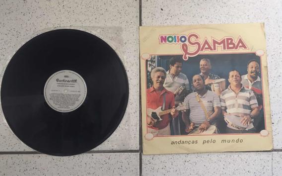 Lp Conjunto Nosso Samba Andanças Pelo Nosso Mundo 1985