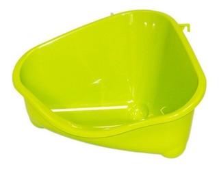 Cama Plastica Esquinera Hamster, Ratones,18x13x10cms X 2 Uni