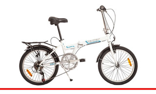 Bicicleta Plegable Firebird Rod 20 Acero 720893