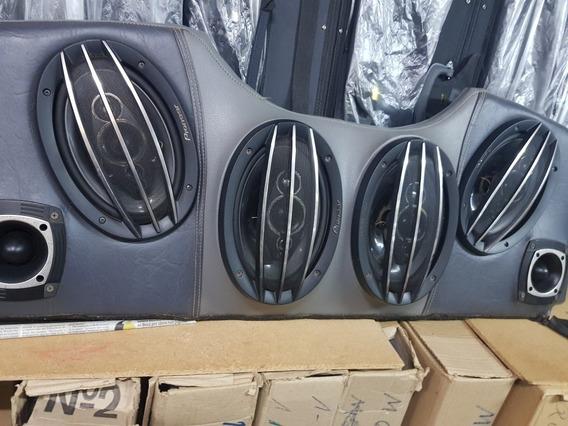 Luneta Audio Para Peugeot 206/207 (4 Parlantes, 2 Tweeter)