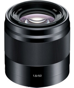 Lente Sony E 50mm F/1.8 Oss - Sel50f18 - Loja Platinum