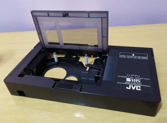 Adaptador Fitas Vhs-c (jvc - Tdk - Panasonic) - Automático
