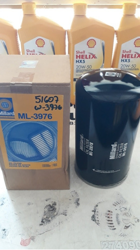 Filtro Aceite Ml 3976 Wix 51607 Camiones