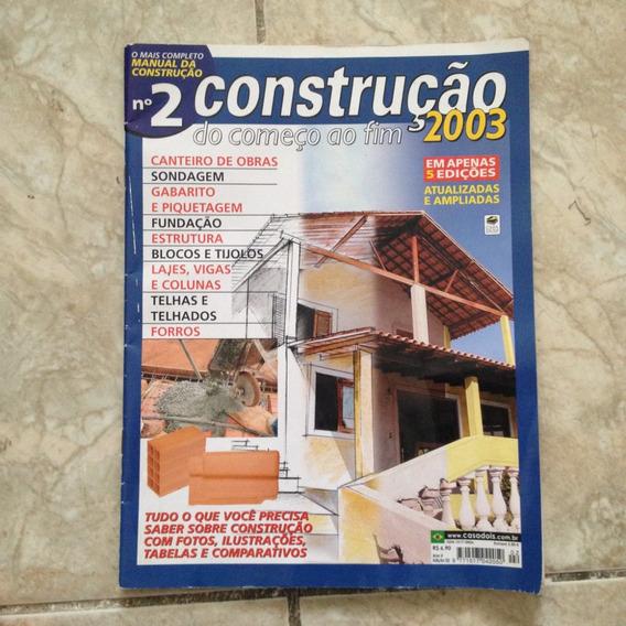 Revista Construção Do Começo Ao Fim 2003 N2 Sondagem Telhas
