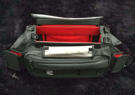 Audio Bag Bolsa Sachtler Sn617 Para Gravador Mixer De Som