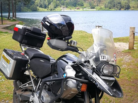Moto Bmw F 1200 Gs Triple Black Equipada