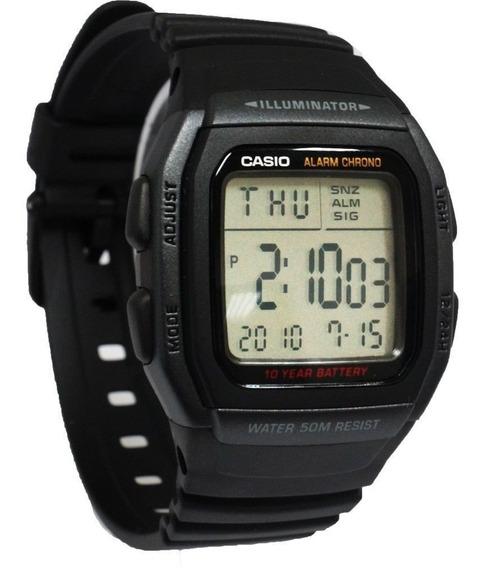 Relógio Casio Masculino W-96h-1bvdf Digital