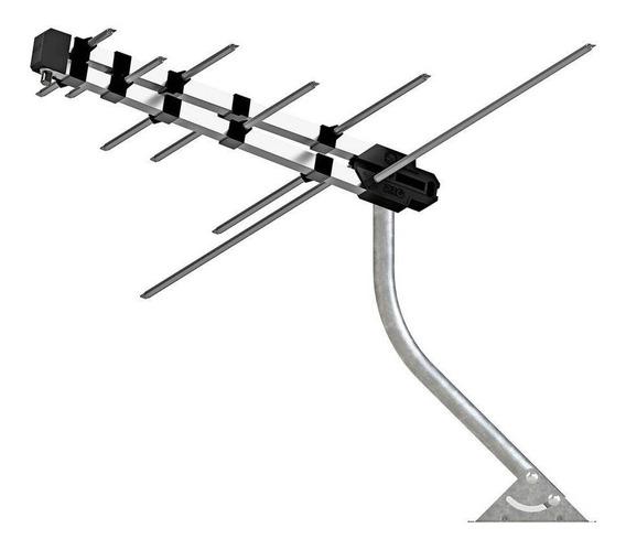 Antena De Tv Externa Digital Log Vhf/uhf Re218 Multilaser