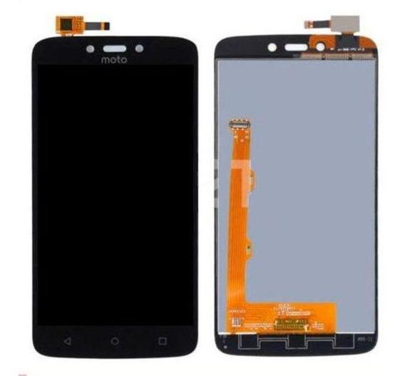 Display Frontal Touch Lcd Motorola Moto C Plus Xt1723 Preto