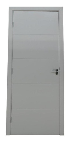 Porta Branca Alamo Pu 80x210 Decorada