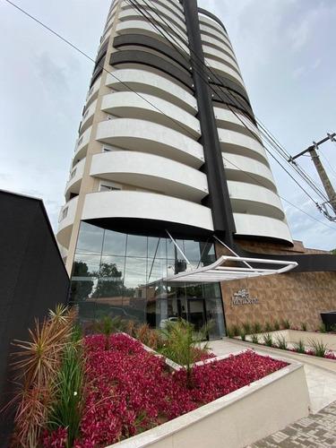 Apartamento No Anita Garibaldi Com 3 Quartos Para Venda, 107 M² - Lg7802