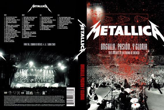 Metallica Orgullo Pasion Y Gloria Dvd Original