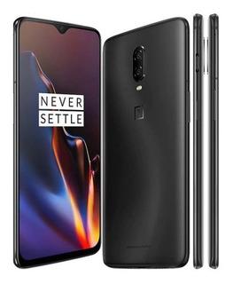 Smartphone Oneplus 6t Midnight Black 256gb 8gb +capa+filme