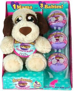 Peluche Surprizamals Mama Y Bebe Layla Jugueteria Bunny Toys
