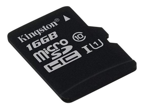 Cartão de memória Kingston SDC10 com adaptador SD 16GB