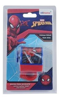 Buzina De Bicicleta Homem Aranha Vingadores Spiderman Retro