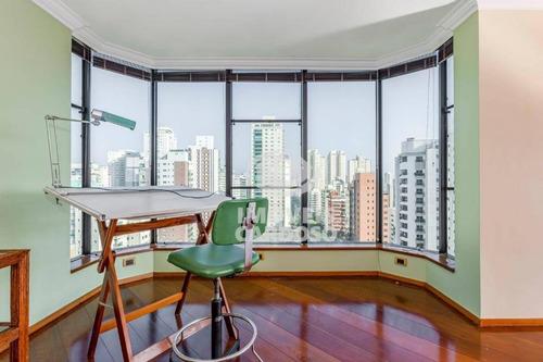 Imagem 1 de 15 de Apartamento Com 3 Dormitórios À Venda, 236 M² - Campo Belo - São Paulo/sp - Ap17906