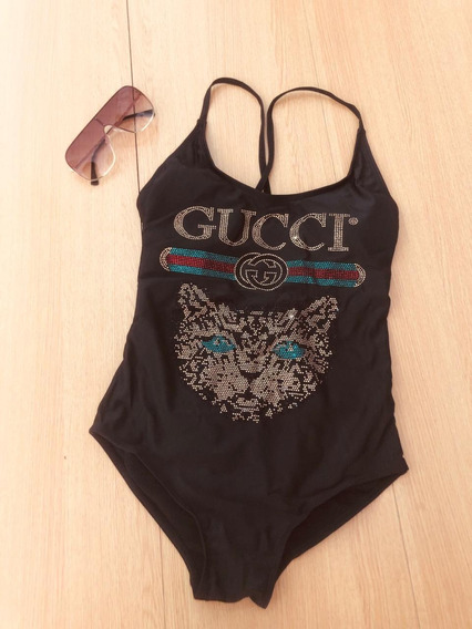 Traje De Baño Bikini Gucci