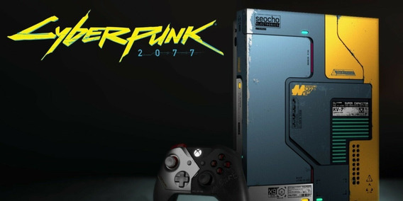 Xbox One X Cyberpunk 2077 Limited Edition 1tb Console