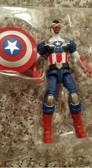 Boneco Figura De Ação Capitao America Falcao Marvel Universe