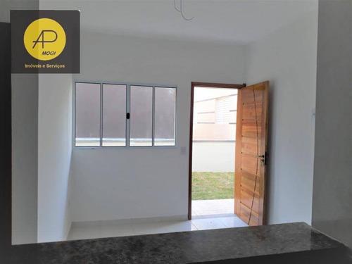 Casa Com 2 Dormitórios À Venda, 49 M² - Botujuru - Mogi Das Cruzes/sp - Ca0071