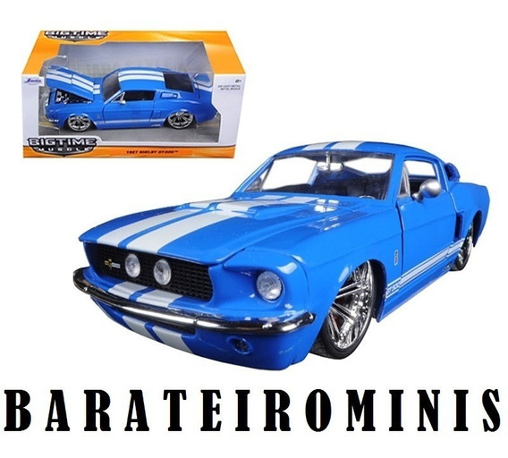 1:24 Shelby Gt-500 Kr - Bigtime Muscle - Jada Barateirominis