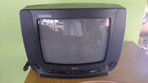 Tv. Lg 14 Polegadas Para Restauro Ou Peças, Não Funciona