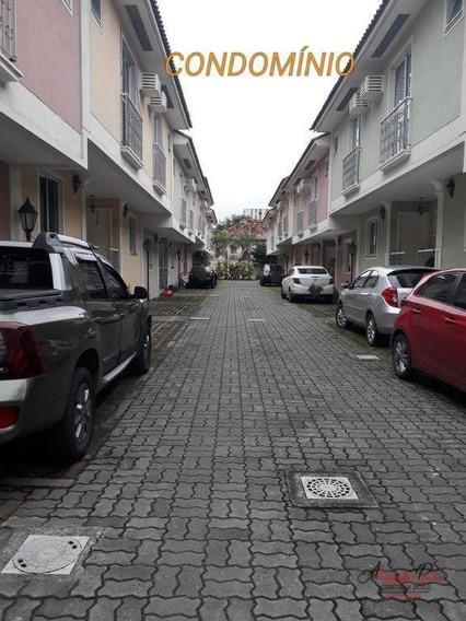 Casa Com 3 Dormitórios À Venda, 77 M² Por R$ 340.000 - Praça Seca - Rio De Janeiro/rj - Ca0009