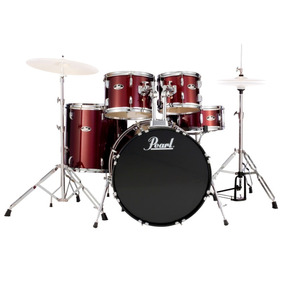 Bateria Acustica Pearl Roadshow Rs505 C91 Red Wine Oferta!