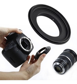 Anel Inversor Macro Reverso Nikon Ai 52mm