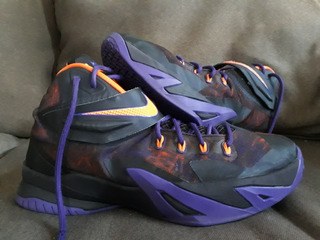 Tenis Nike Lebron James Soldier Viii Purple 28mx/10us